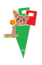 Teddy in Schultüte 2020