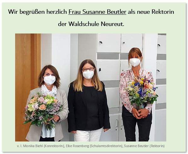 Rektorin Susanne Beutler